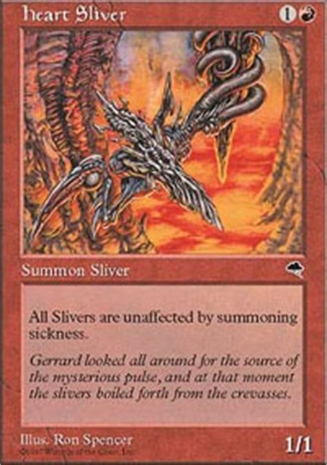 magic the gathering sliver deck legacy sliver hive legacy mtg deck