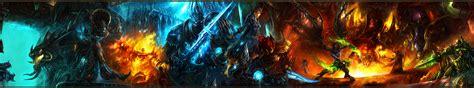 warhammer monitor dual screen fantasy warriors battles