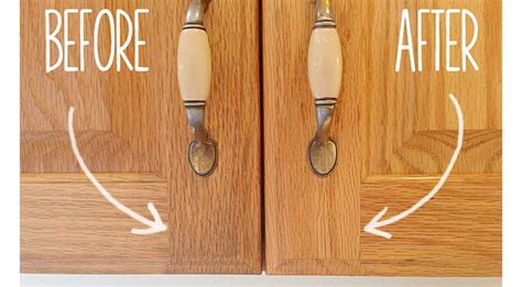 How To Clean Wood Cupboard Doors by She Mixed Baking Soda And Vegetable What Happened