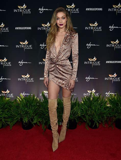 Gigi Hadid Hot on Red Carpet - at Intrigue in Las Vegas 4 ...
