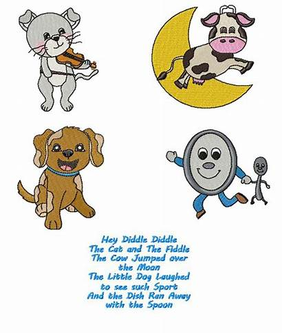 Diddle Hey Clipart Nursery Clip Coloring Banner