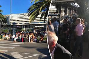 Nice airport LOCKDOWN: Police swoop to abandoned luggage ...