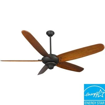home decorators collection altura 68 in rubbed bronze ceiling fan 26668 the home depot