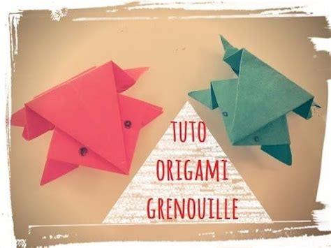 tuto origami facile tuto origami pliage grenouille en papier facile une