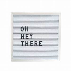 10quot x 10quot letter board white three potato four With letter boards for sale