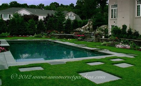 swimming pool and garden design swimming pool and outdoor kitchen design traditional pool newark by summerset gardens