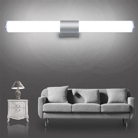 modern 12w 16w led wall l waterproof bathroom mirror light indoor kitchen decor ac85