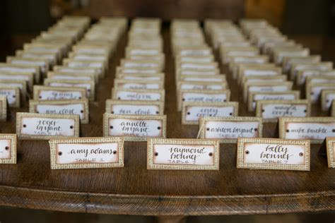 table number place cards rustic place cards set of 25 burlap wedding wedding table