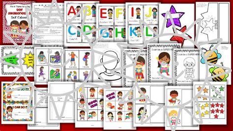 self esteem theme activities centers and printables preschool 270   s502260936815463319 p562 i5 w640