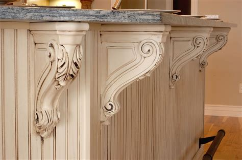how to make a kitchen island carved kitchen island corbels one day my pretties you 8737