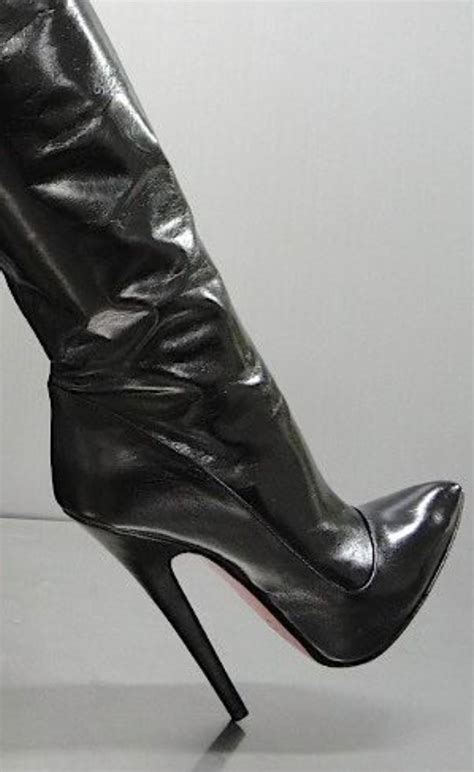 pin  high heel boots