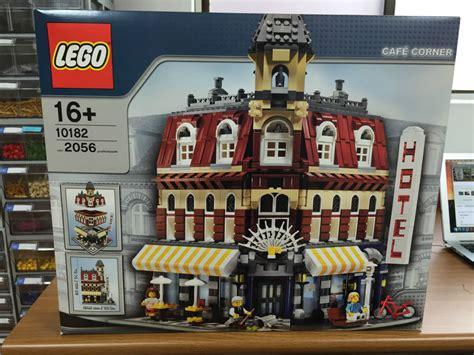 Lego Cafe Corner (café Corner) 10182 Modular Building