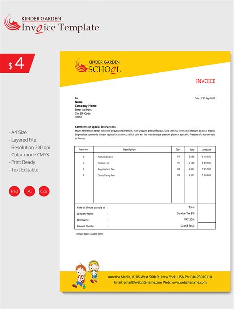 invoice design template invoice template 41 free word excel pdf psd format free premium templates
