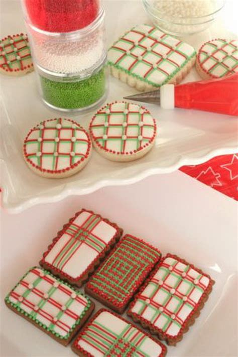 iced decorated  shaped cookies  holidays family