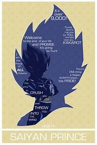 Vegeta Poster  Oc    Dbz