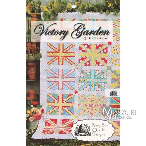 missouri quilting company deal of the day victory garden quilt pattern in stitches missouri
