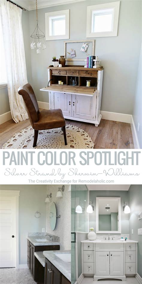 silver strand by sherwin williams is a beautifully