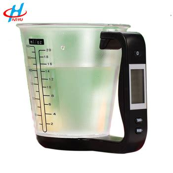 hostweigh digital kitchen scales electronic measuring tool household jug scale with lcd