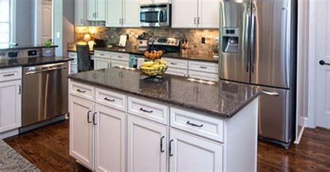 This #kitchen Island Provides Extra Counter Space And