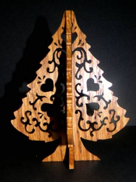 scroll  christmas tree ornament patterns woodworking