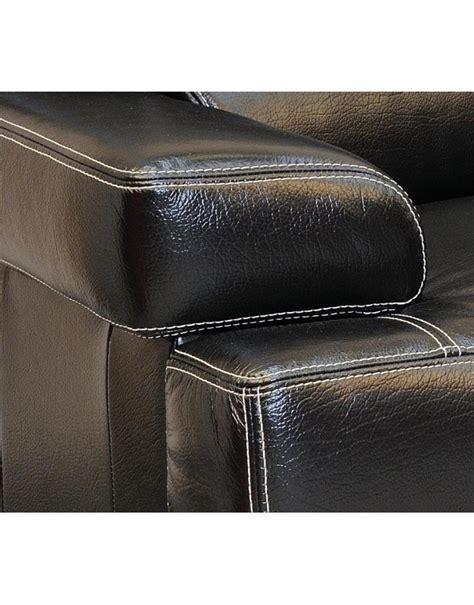 canapé cuir deux places canape torino cuir buffle deux et trois places deco meubles