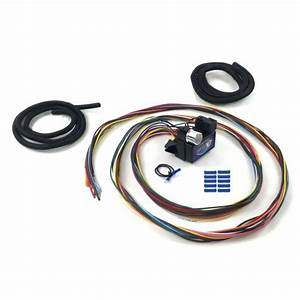 12 Fuse 12v Conversion Wire Harness 41 1941 For Ford Sedan