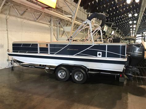 Hurricane 226 Deck Boat by Hurricane Fundeck 226 Boats For Sale Boats