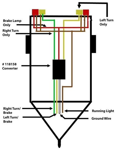 wiring a trailer so that turn signal and brake signal are separated etrailer com