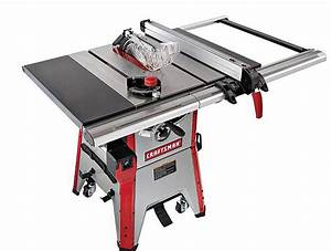 Craftsman 10 Inch Contractor Table Saw Review - Table Saw