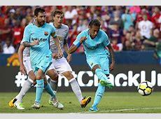 Hasil bola Barcelona 10 Manchester United ICC 2017