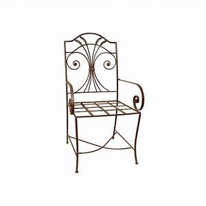Fauteuil Fer Forgé : fauteuil garden en fer forg ~ Melissatoandfro.com Idées de Décoration