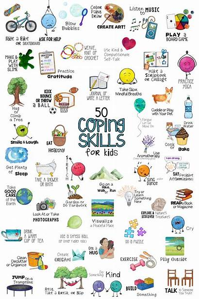 Coping Skills Stress Management Fun Learning Sel