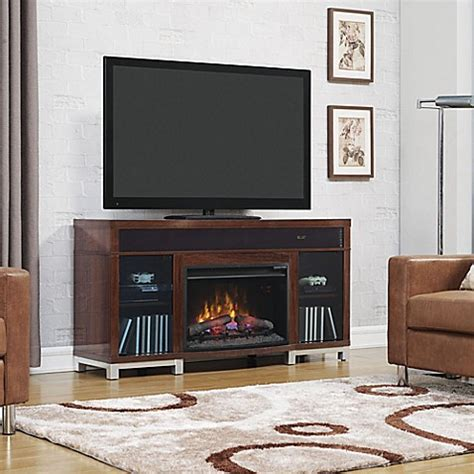 cherry media electric fireplace buy bell o 174 roxbury 59 5 inch electric fireplace media