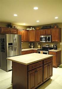 Recessed Lighting In Kitchen  Living Room  Hallways  And