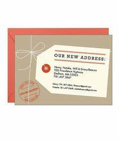1000 ideas about moving announcements on pinterest new With moving home cards template