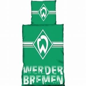 Werder Bremen Bettwäsche : werder bremen bettw sche schriftskyline 135x200cm ~ A.2002-acura-tl-radio.info Haus und Dekorationen