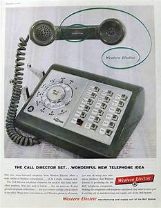1959 Western Electric Call Director Business Phone Ad