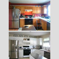 See What This Kitchen Looks Like After An $800 Diy