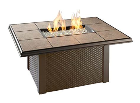 Fire pit tables come in different styles including patio tables with fire pits, dining tables, coffee tables, rectangular tables, round tables and square the endless summer gas outdoor fire pit table is constructed from sturdy steel, making it durable and able to handle harsh weather conditions. 15 Top Fire Pit Coffee Tables for 2018