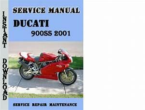 Ducati 900ss 2001 Service Repair Manual