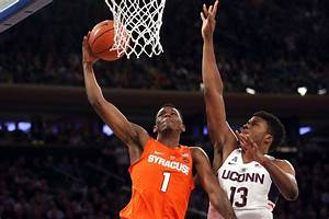 Syracuse vs. Connecticut: TV/streaming, time, odds ...