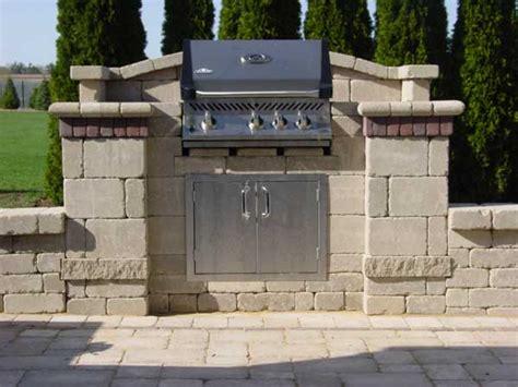 unilock grill island mchenry unilock pit bbq lake county il bluestone