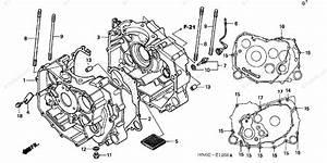 Honda Atv 2002 Oem Parts Diagram For Crankcase