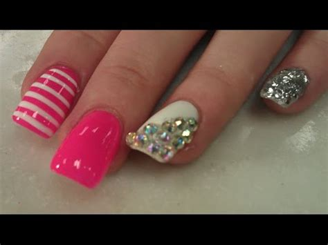 mesmerized acrylic nail design agaclip   video
