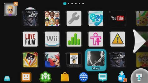 Wii U Menu Background Color Modifier Mod [black Theme