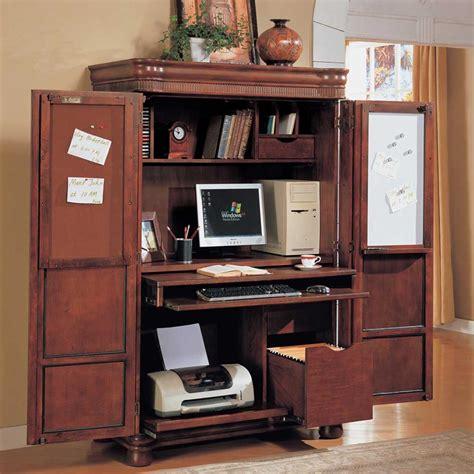 corner computer desk cabinet office armoire with doors computer corner armoire to