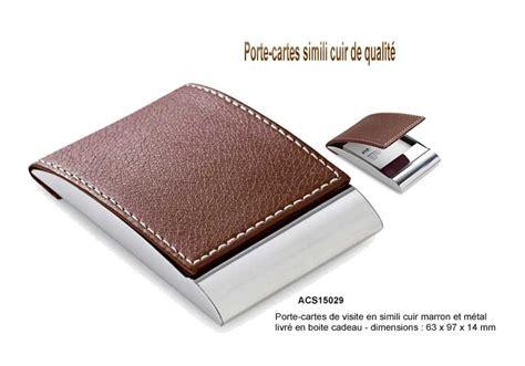 porte cartes publicitaire coffret cadeau porte cartes m 233 tal luxe ou cuir par aic cr 233 ations