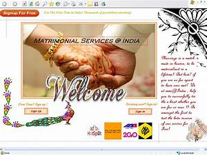Sector 5  Training Project  Matrimonial Site