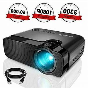 Full Hd 1080p Mini Projector Led Multimedia Home