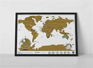 World Scratch Map: The Travel Edition : Luckies of London ...